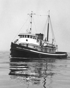 Historical Evaluation of the Tugboat Challenger